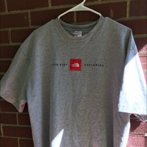 Vintage The North Face Box Logo Tee